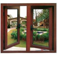 China Aluminum Casement Window - DELUXE 50 CASEMENT WINDOW 50mm out fan frame with 1.4mm-1.6mm thickness on sale
