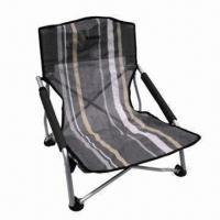 Folding Camping Chair, Easy to Remove and Store, Customized Designs are Accepted Manufactures