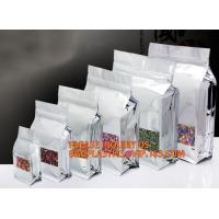 China Doypack Pet Food Pouches Bag Zip Lock Coffee Packaging Bags With Valve, Zipper Large Zip Lock Aluminum Foil Plastic Bag on sale