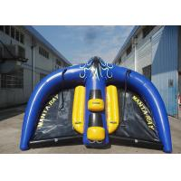 Commercial Grade PVC Inflatable Manta Ray Towable Tube OEM For Water Sport Manufactures