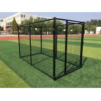 Powder Coated Outdoor Metal Dog Kennel Welded Wire Mesh 3000mm Length Manufactures