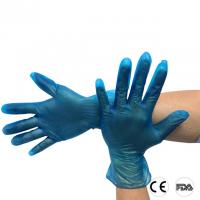 Powder Free Disposable Vinyl Gloves for Food Industry Dental Nail PVC gloves Manufactures