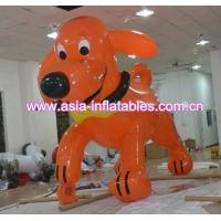 China custom red inflatable dog shape helium cartoon balloon for sale on sale