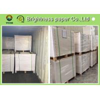 China Multiplication Ivory Board Paper White Coated For Die Cutting 889 * 1194mm on sale