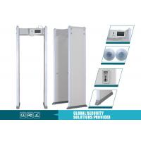 Multi Alarm Sounds Door Frame Metal Detector 255 Level With LCD Touch Screen Manufactures
