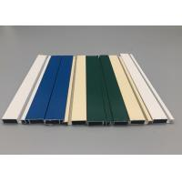 Customized Powder Coated Aluminum Extruded ProductsAlloy 6063 T4 ISO Certification Manufactures
