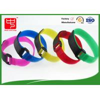 China Anti Slip Industrial Strength Velcro Tape / Durable Adhesive Velcro Strips on sale