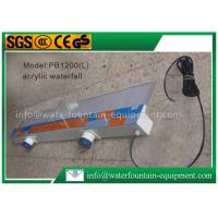 Plastic Waterfall Blade Water Fountain Equipment Various Sizes Outdoor Decoration Manufactures