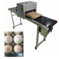 Automatic Continuous Egg Printing Machine 12V 4A To Prevent Counterfeiting Manufactures