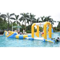 Durable Inflatable Water Sports / Water Park Games For Pool  With TUV Certification Manufactures