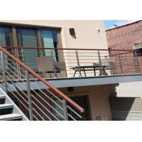 CE Stainless Steel Balustrade Systems Porch Stair Railing End Cap House Railing Manufactures
