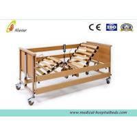 China Luxury Electric Medical Hospital Beds / Five-Function Home Care Bed by Solid Wood (ALS-HE004) on sale