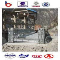 CB200 Bailey Bridge Single Lane QSR, Steel Bridge, Truss Bridge, Prefabricated Bridge Manufactures