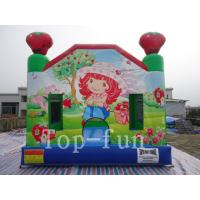 Children Customized Inflatable Jumping Castle CE / UL Blower For Indoor / Outdoor Manufactures