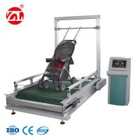 Stroller Bump Wear Test Instrument , Wheeled Suitcase Abrasion Testing Equipment Manufactures