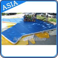 China Cheerleading Club And Gymnasium Inflatable Air Tumbling Track Used For Training on sale