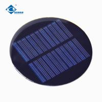 0.5W PET Solar Panel 5.5V Epoxy Resin Solar Panel for intelligence toy ZW-R80 solar panel system for dc electric motor Manufactures