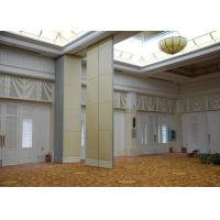 Veneer Gypsum Acoustic Folding Partitions , Accordion Folding Partitions For Restaurant Manufactures