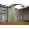 Veneer Gypsum Acoustic Folding Partitions , Accordion Folding Partitions For Restaurant for sale
