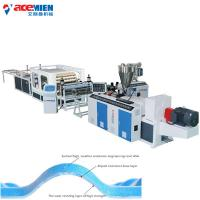 China Spanish Style Roof Tile Machine For Products PVC Roofing Tile Extrusion on sale