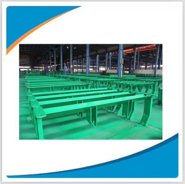 Quality Sturdy and durable belt conveyor roller bracket, idler roller frame for sale