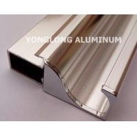 Square Polished Aluminum Alloy Extrusions With Strong Stability Manufactures