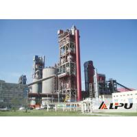 Dry Or Wet Type Cement Cement Plant Kiln With Rotating Speed 0.26-2.63 r/min Manufactures