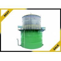 China Vertical Cylindrical Biogas Digester Equipment , Biogas Storage Cylinders  Customized on sale