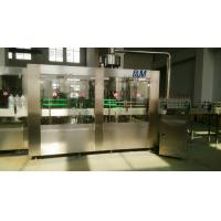 PET / PP Bottle Automatic Water Filling Machine , Pure Water Bottling Equipment Manufactures