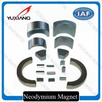 Sever Motor Neodymium Iron Boron Magnets , N38SH Tiny Strong Magnets OEM / ODM Manufactures
