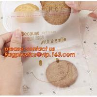 Various Styles Christmas Santa Claus moose Snowman self-adhesive Cookie packaging bags for biscuits snack christmas Manufactures