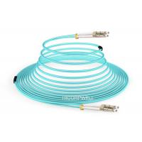 China FTTH LC - LC OM3 150 M DX Glass Fiber Optic Cable Patch Cord 1m 3m 5m on sale