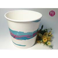 85oz 300gsm Double PE Paper Popcorn Buckets/Tub Food Grade Logo Print Manufactures