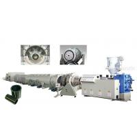 HDPE pipe production line Manufactures
