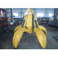 No Rotate Hydraulic Orange Peel Grab Bucket for CAT320 Excavator Manufactures