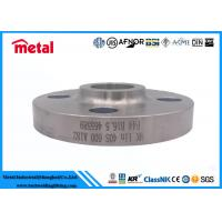 Forged Nickel Alloy Pipe Fittings Socket Welding Flange SWRF SCH40S A182 F44 Manufactures