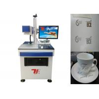 Ceramics Co2 Laser Marking Machine 20khz-100khz With Air Cooling Manufactures