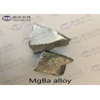 Quality MgBa5 MgBa10 MgBa Alloy Magnesium Barium Alloy For Grain Refine Improve Casting Performance for sale