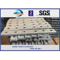 TUV Oxide Black Forging 4 Holes 50# Joint Bar Fishplates In Railway Tracks Manufactures