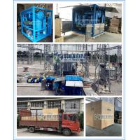 Fully Enclosed Type Double Stage High Vacuum Dielectric Oil Purification Machine 9000Liters/Hour