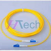 China 9/125 SM Simplex 3M LC/LC Patch Cord, Chinese Fiber Optic Patch Cord Manufacturer on sale