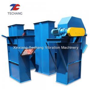 China Wear Resistant Inclined Bucket Conveyor , Carbon Steel Grain Bucket Elevator on sale