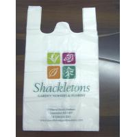 Quality Custom printed T Shirt Plastic Bags packaging small bags recycling for food for sale