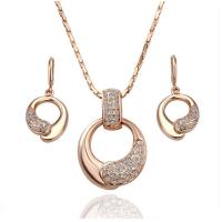 African wedding bridal gold plated jewelry set Manufactures