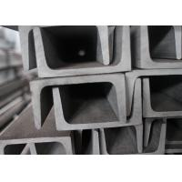 China SS304 SS201 Channel Stainless Steel , Heat Resistant U Channel Steel on sale