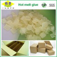 Carton Packaging Yellow Clear Hot Melt Adhesive Pellets EVA Long Open Time Odorless Manufactures