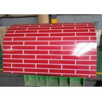 Color Coated PPGI Steel Coil / PPGL Steel Coil Width 914mm-1250mm For Roofing Manufactures