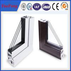 China New! ODM triple sliding door, open style door & window frames, aluminum windows profiles on sale
