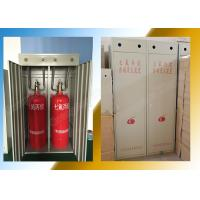 Industrial Equipment Hfc227ea Fire Suppression System Double Cabinet 100L Manufactures