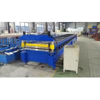 China PPGI Galvanized Steel Trapezoidal Roof Panel Roll Forming Machine Metal Profile Lines on sale